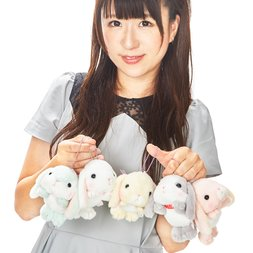 Pote Usa Loppy Napping Weather Vol. 2 Rabbit Plush Collection (Ball Chain)