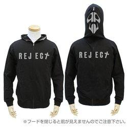 Rebuild of Evangelion 10th Angel Black Full-Zip Hoodie