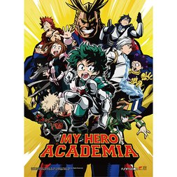 My Hero Academia Key Art 1 Premium Wall Scroll