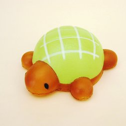 Mother Garden Bread Bakery Turtle Melonpan Squeeze Toy