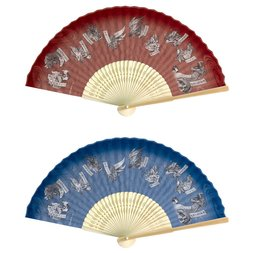 Monster Hunter XX Japanese-style Folding Fan