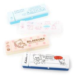 Rilakkuma & Sumikko Gurashi Plastic Pen Cases