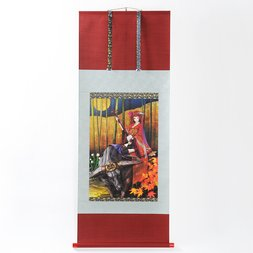 redjuice Hanging Scroll - Kimono Girl (A2 Size)
