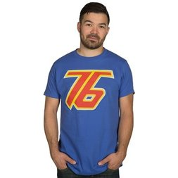Overwatch Soldier: 76 Men's Premium Royal Blue T-Shirt