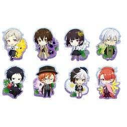 Bungo Stray Dogs Winter Flower Clear Clip Badge Box Set