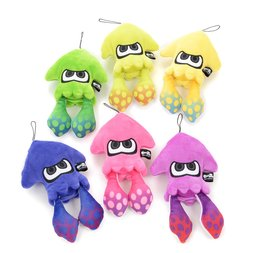 Splatoon 2 All-Star Collection Small Squid Plushies