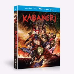 Kabaneri of the Iron Fortress: Season 1 Blu-ray/DVD Combo Pack