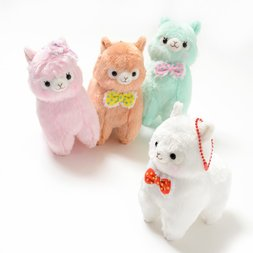 Alpacasso Mokomoko Ribbon Alpaca Plush Collection (Ball Chain)