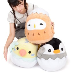 Tamago kara Kotori Tai Bird Plush Collection (Big)