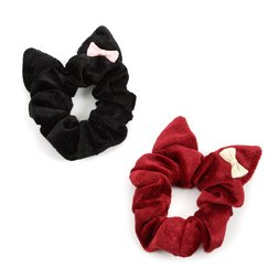 Le cocone Girly Rock Cat Series Cat Ear Scrunchie