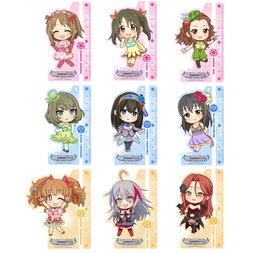 Idolm@ster Cinderella Girls Ruler Keychain Collection