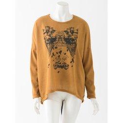 Rozen Kavalier Wing Pattern Oversized T-Shirt