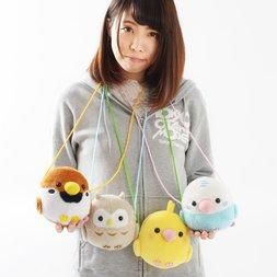 Kotori Tai Bird Plush Pochettes