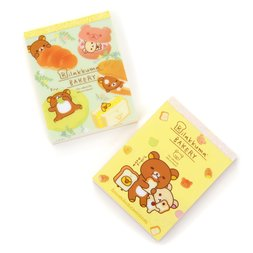 Rilakkuma Bakery Cloth Memo Pad