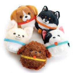 Wonderful Wanko Tai Dog Plush Collection (Ball Chain)