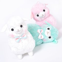 Alpacasso Kids Fuwamoko Ribbon Alpaca Plush Collection (Big)