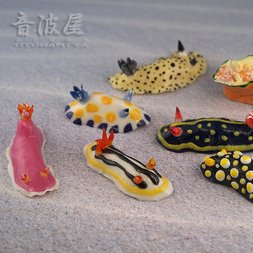Sea Slug Keychains