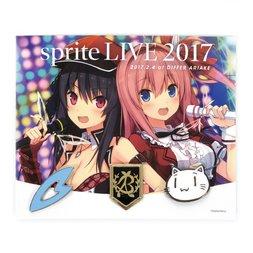 Sprite Live 2017 Pin Set