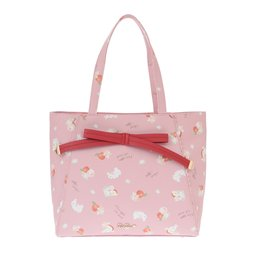 LIZ LISA Apples & Bunnies Tote Bag