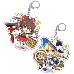 Touhou Project Chibi Character Big Keychain Charm Collection
