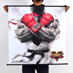Street Fighter V Wall Scroll Poster