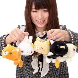 Daramofu-san Minna Nakayoshi Plush Collection (Ball Chain)