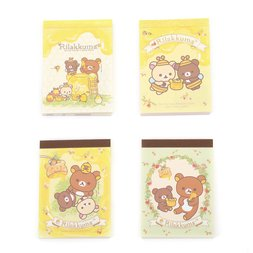 Rilakkuma Harvest Festival in Honey Forest Mini Memo Pad