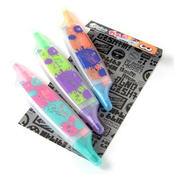 Splatoon Gachi Highlighter Pen Set