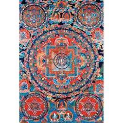 Kannon Mandala Jigsaw Puzzle