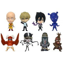 16d Collectible Figure Collection: One-Punch Man Vol. 1 Box Set