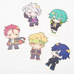Kenka Bancho Otome Chibi Character Diecut Stickers