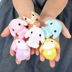 Pote Usa Loppy Medium Large Soft Vinyl Rabbit Figure Collection