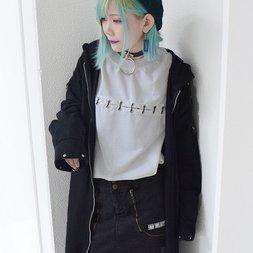 ACDC RAG Shoulder Lace Long Coat