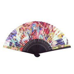 Snow Miku Folding Fan