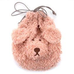 Holty Poodle Drawstring Bag