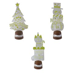 concombre Christmas Decoration LED Flashing Light