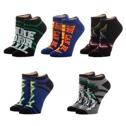 My Hero Academia Ankle Socks 5-Pack