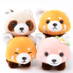 Lesser Panda-chan Yochi-yochi Red Panda Plush Collection (Standard)