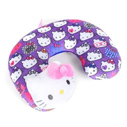 Hello Kitty Kids' Lavender Tone Neck Pillow