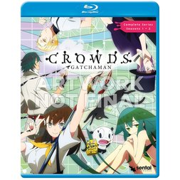 Gatchaman Crowds Seasons 1 & 2 Complete Collection Blu-ray
