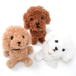 PUPS! Plush Toy Poodle