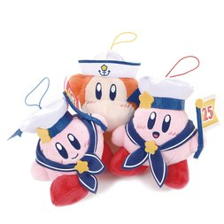 Kirby 25th Anniversary Bon Voyage Mascot Plush Collection