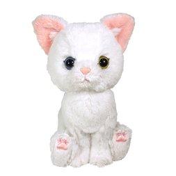 Kitten Plush: White Cat