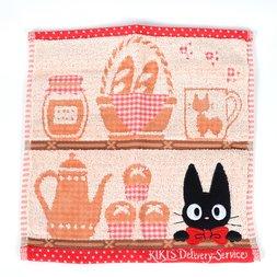 Kiki's Delivery Service Jiji on a Shelf Towel