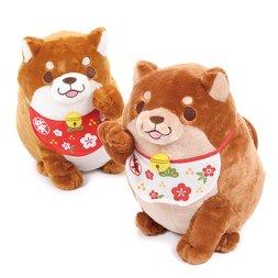 Chuken Mochi Shiba Beckoning Big Plush Collection