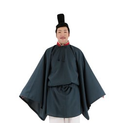 Men's Shinto Priest Cosplay Outfit Set