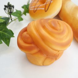 Mother Garden Bread Bakery Honey Roll Squeeze Toy