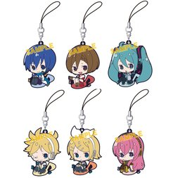 Vocaloid DeRemus Rubber Strap Collection Box Set