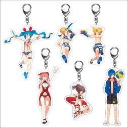 Hatsune Miku Summer Festival Acrylic Keychain Series: Beach Festival Ver.