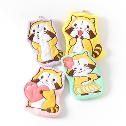 Rascal the Raccoon Posing Coin Pouches